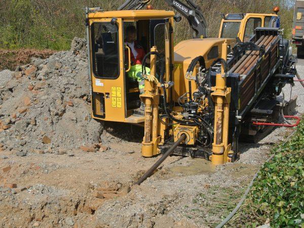 Case - Nye vandledninger Rødekro Vandværk 2